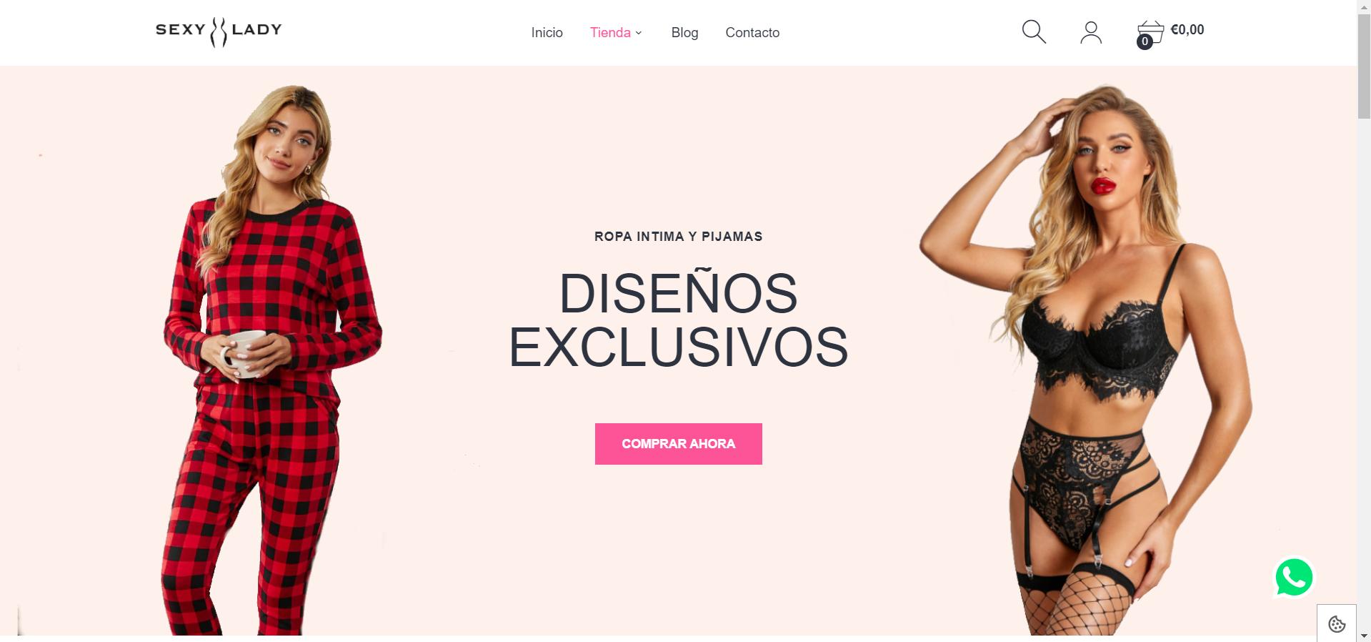 pagina web SexyLady