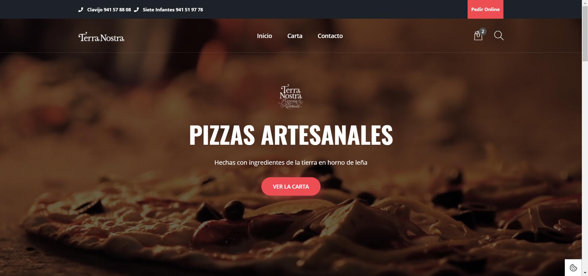 pagina web Terranostra