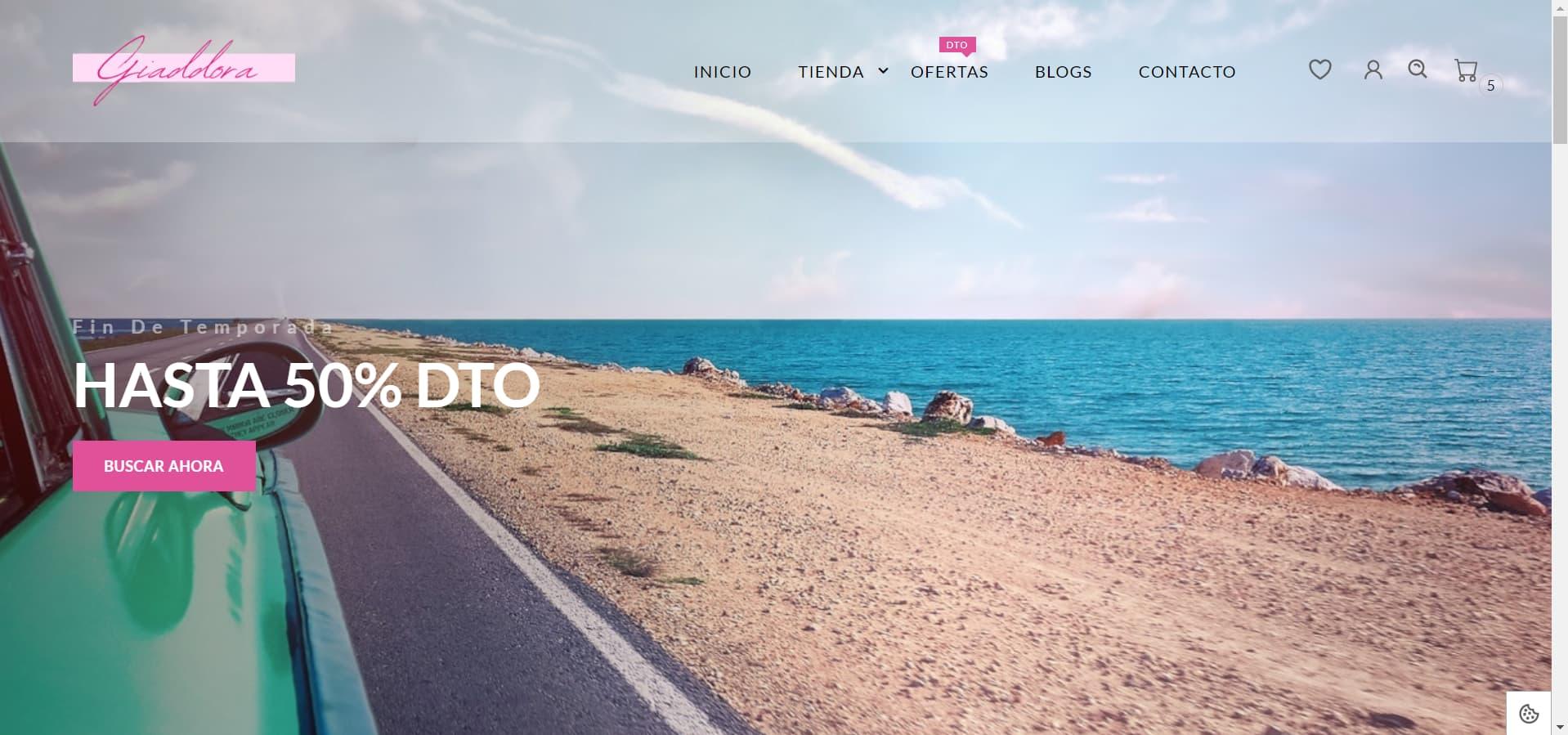 pagina web Giaddora